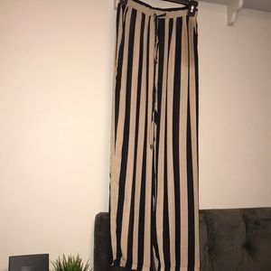 Striped pants super cute with onesie